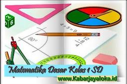 Buku Matematika Dasar Kelas 1 SD/MI Lengkap Pdf