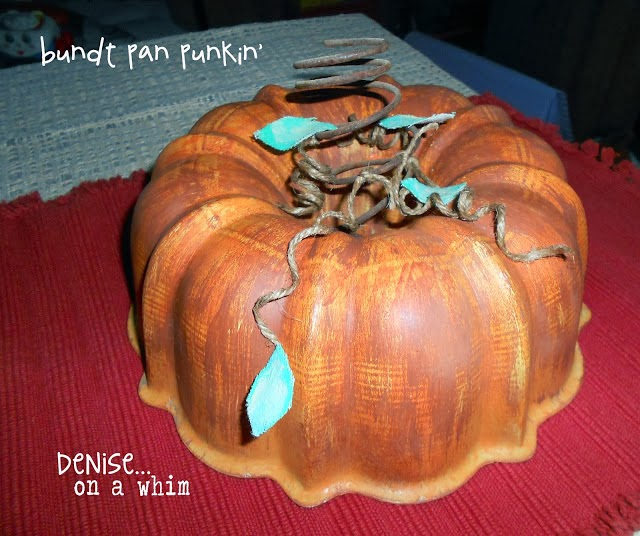 bundt pan pumpkin