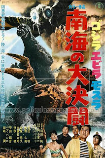 Godzilla Contra El Terror De Los Mares (1966) [Japones-Subtitulado] [Hazroah]
