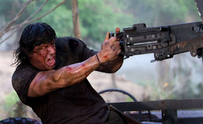 Rambo inspired by Frankenstein