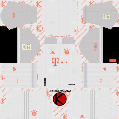 Bayern Munich 2020-21 Kit - DLS2019 Kits