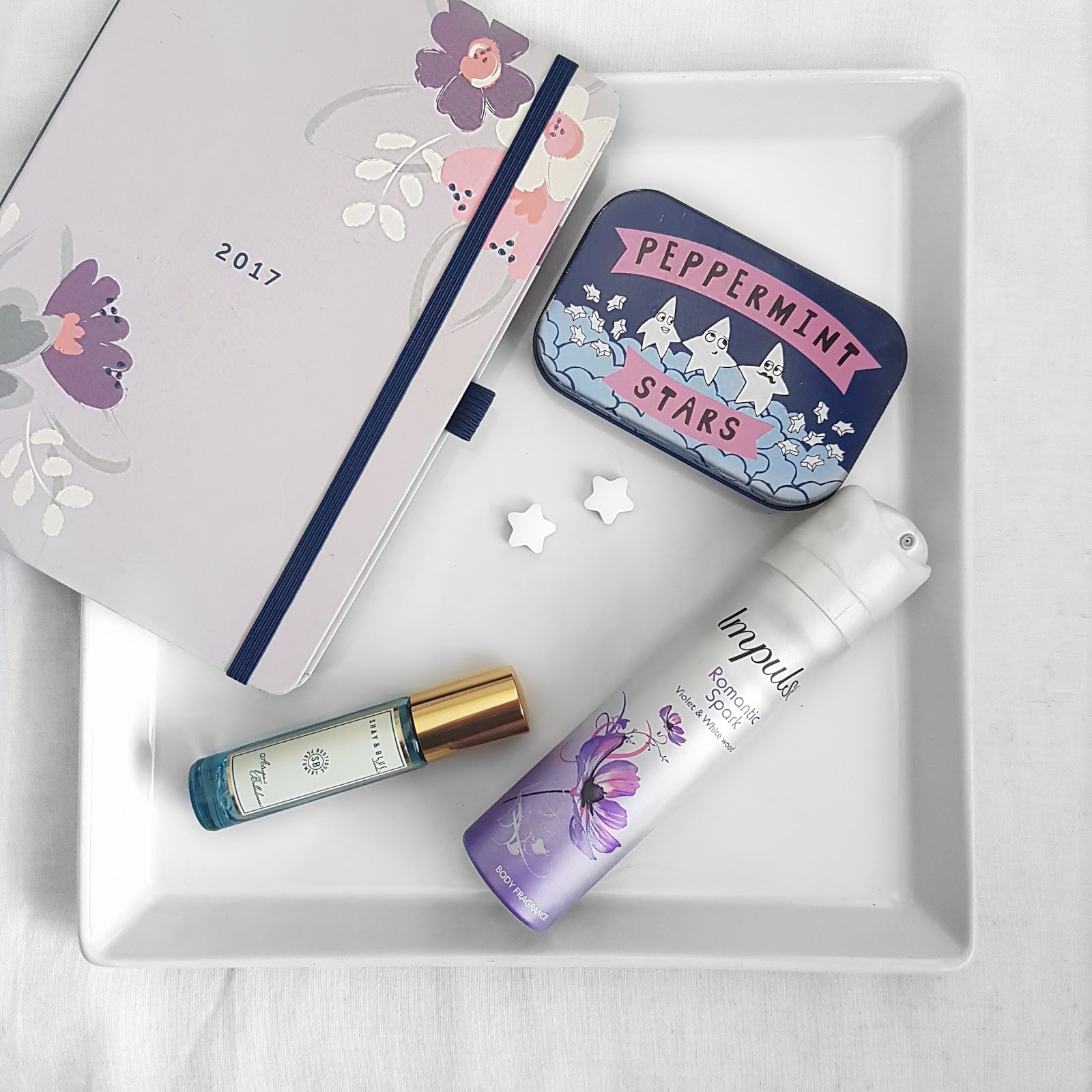 Diary and beauty products