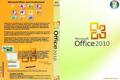 Microsoft Office 2010 Professional DVD Capa
