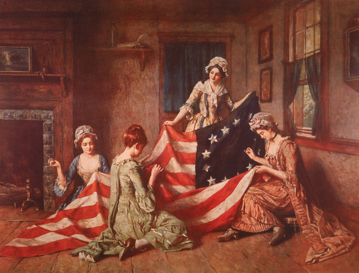 betsy ross pieces of information meant for kids