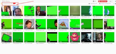 green screen efek terbaru untuk youtuber