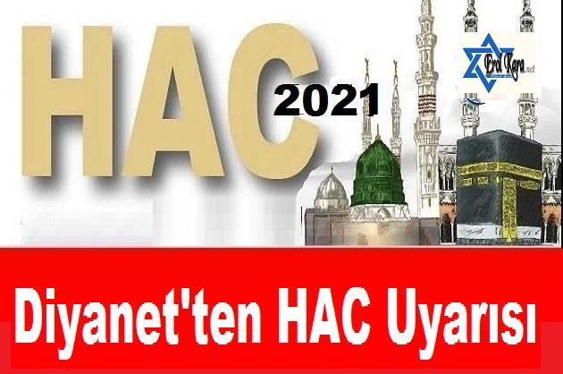 Para Yatıran Hacı Adaylarına Diyanet'ten Uyarı