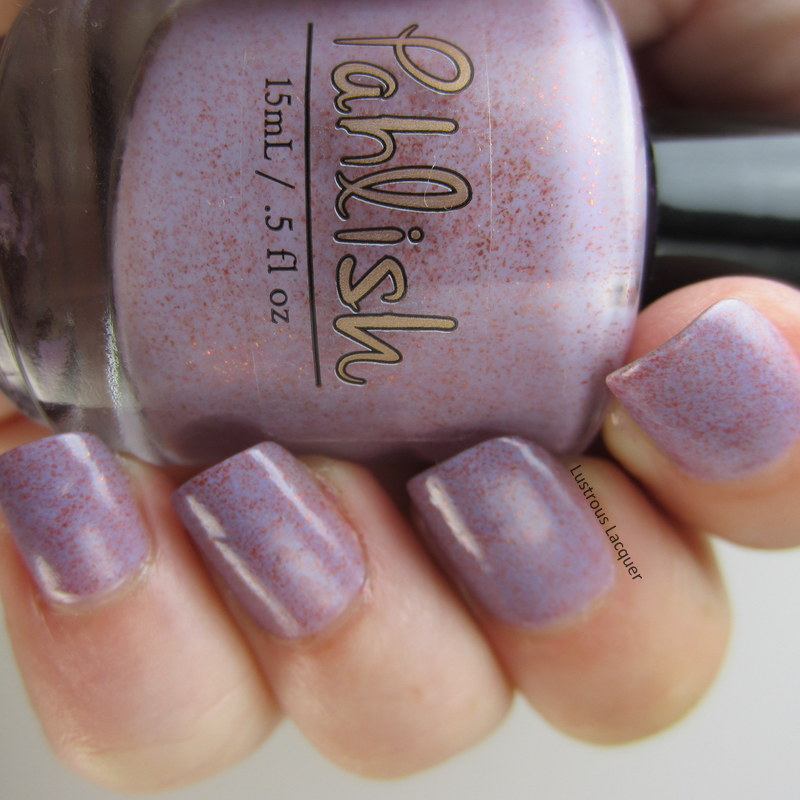 Purple-nail-polis-with-shimmer