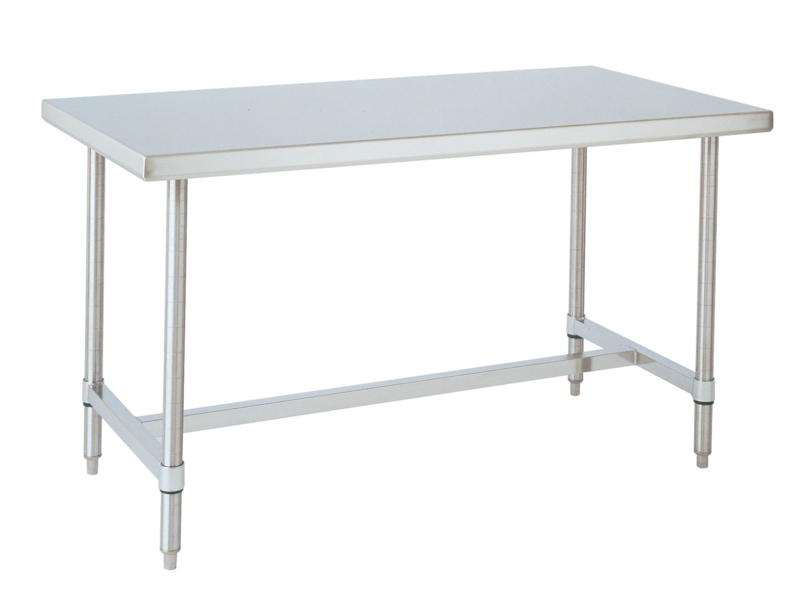 Stainless steel prep table