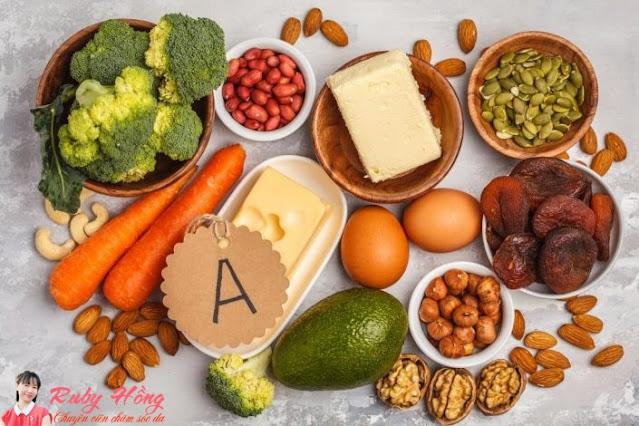 Lợi ích bất ngờ từ vitamin A giúp phụ nữ luôn có làn da đẹp