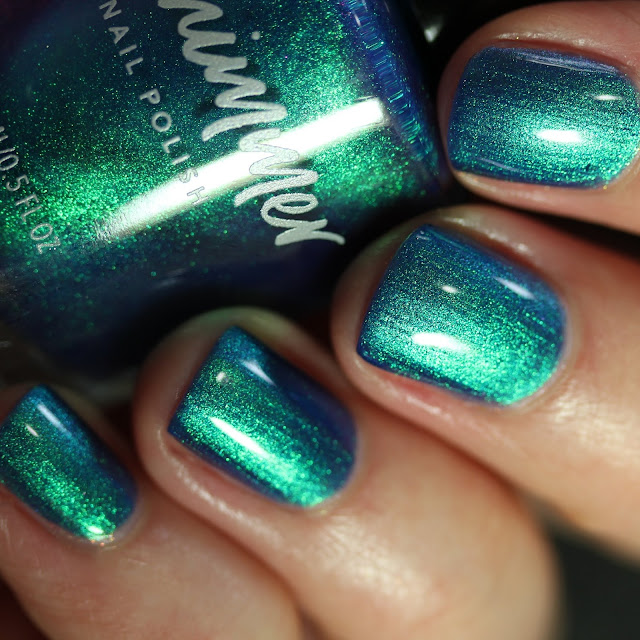KBShimmer The Tide is Right ocean blue turquoise nail polish