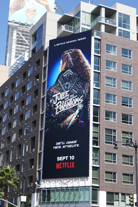 Julie and Phantoms series premiere billboard