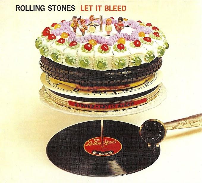 Encarte: The Rolling Stones - Let it Bleed