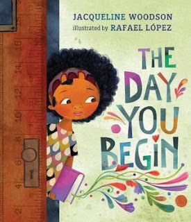 picture book, jacqueline woodson, day you begin, classroom bookaday, bookaday