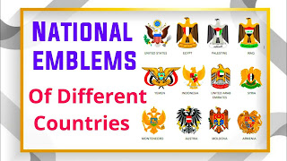 National Symbols Of Various Countries
