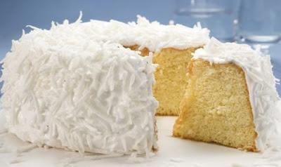 Receita de bolo de coco fácil