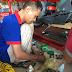 Bảo dưỡng, vệ sinh nồi xe Honda PS 150i tại Tp.HCM