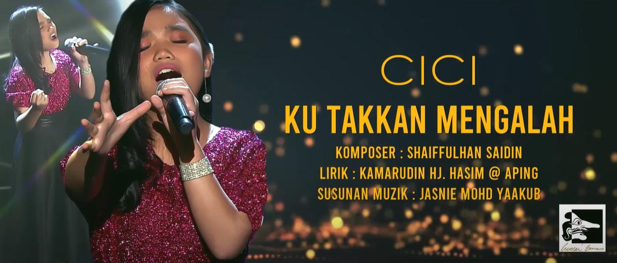 """Cici Pertaruhkan Lagu Keluaran Terbarunya """"Ku Takkan Mengalah"""" Dalam Pertandingan Carta Lagu Artis Sabah ( CLAS ) Musim 14"""