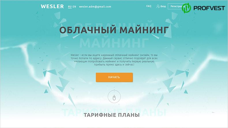 Wesler обзор и отзывы HYIP-проекта