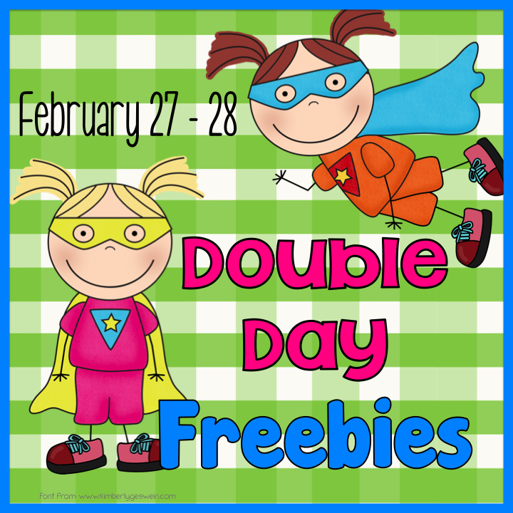 Two Freebies on the 27th and the 28th at Teach123 and Fern Smith's Classroom Ideas!