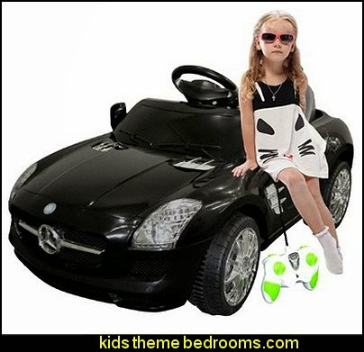 Black Mercedes Benz Kids Ride on Car