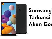 Samsung Galaxy A21 Lupa akun Google FRP Bypass 2021