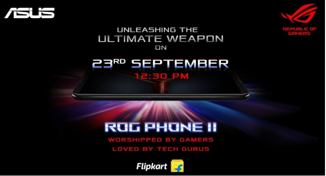 Asus ROG Phone 2 will be launched in India on 23 September
