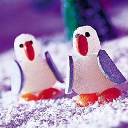 Christmas activities for children Gumdrop Penguins