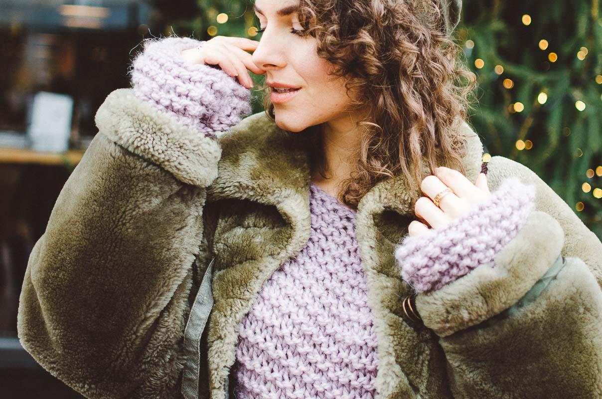 свитер крупной вязки купить