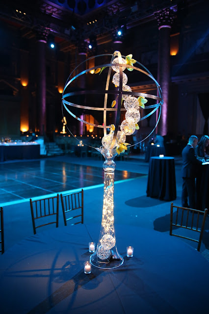 Capitale, Holiday Party, Corporate Centerpiece