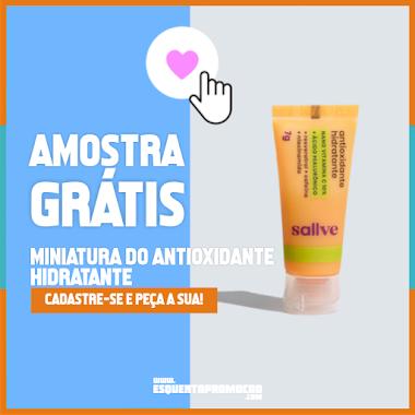 Amostra Grátis Miniatura do Antioxidante Hidratante