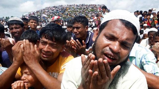 Inggris Kucurkan Bantuan Rp 137 M ke Etnis Rohingya