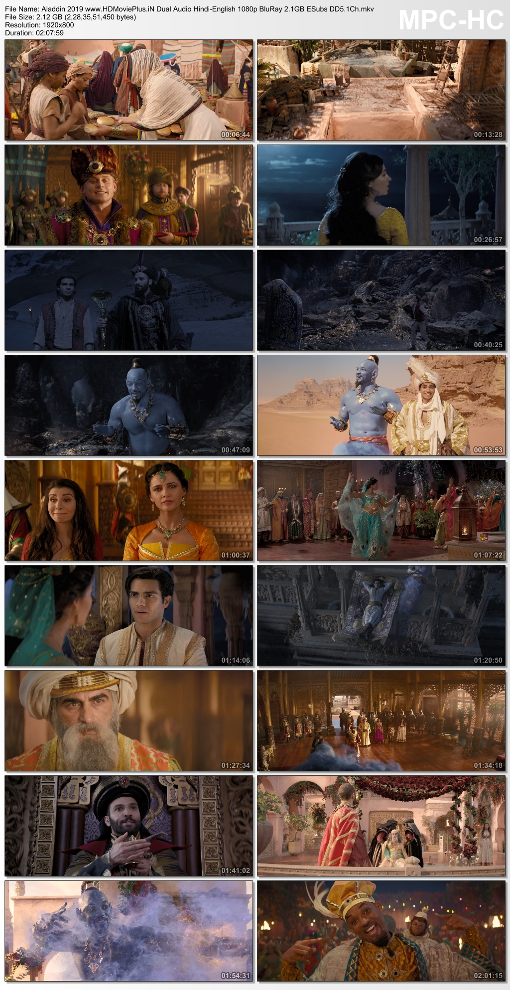 Aladdin 2019 Dual Audio