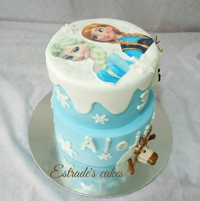 Tarta Frozen de cumpleaños 6