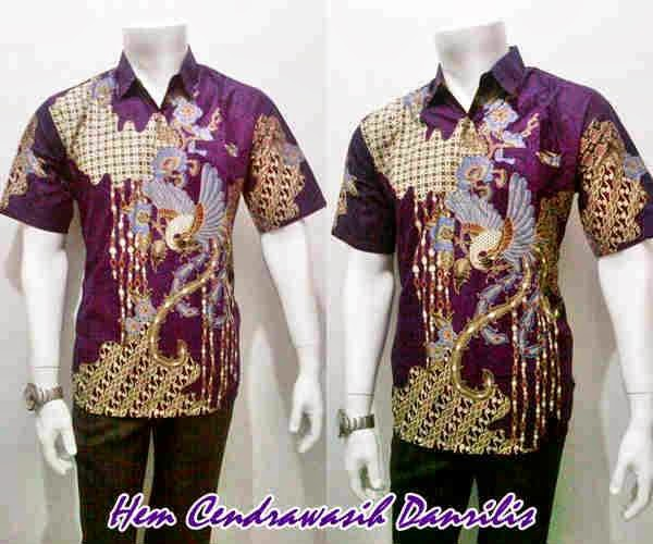 baju batik pria motif burung cendrawasih batik bagoes solo