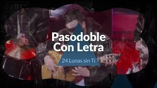 """⚫Pasodoble INEDITO """"A quien corresponda"""" de la comparsa """"Los Mafiosos"""" (2018). 24 Lunas sin tí"""