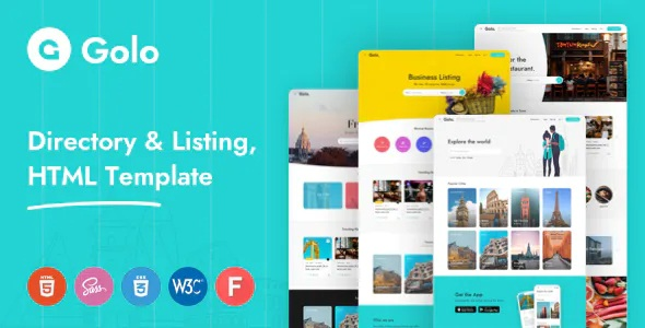 Best Directory & Listing HTML Template