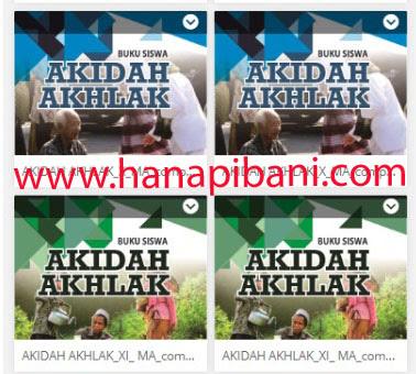 Download Buku Akidah Akhlak Madrasah Aliyah Ma Terbaru Sesuai Kma Nomor 183 Tahun 2019