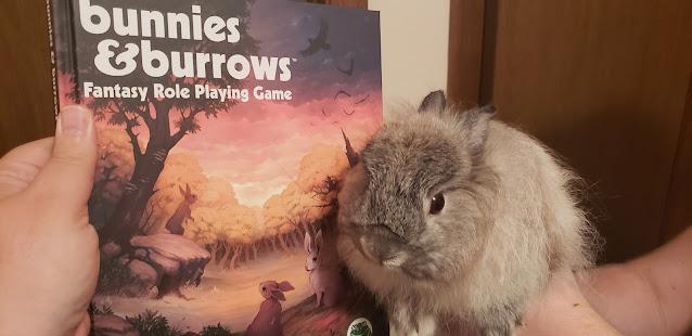 Real bunnies love B&B