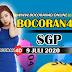 Bocoran Misteri 4D SGP 9 Juli 2020