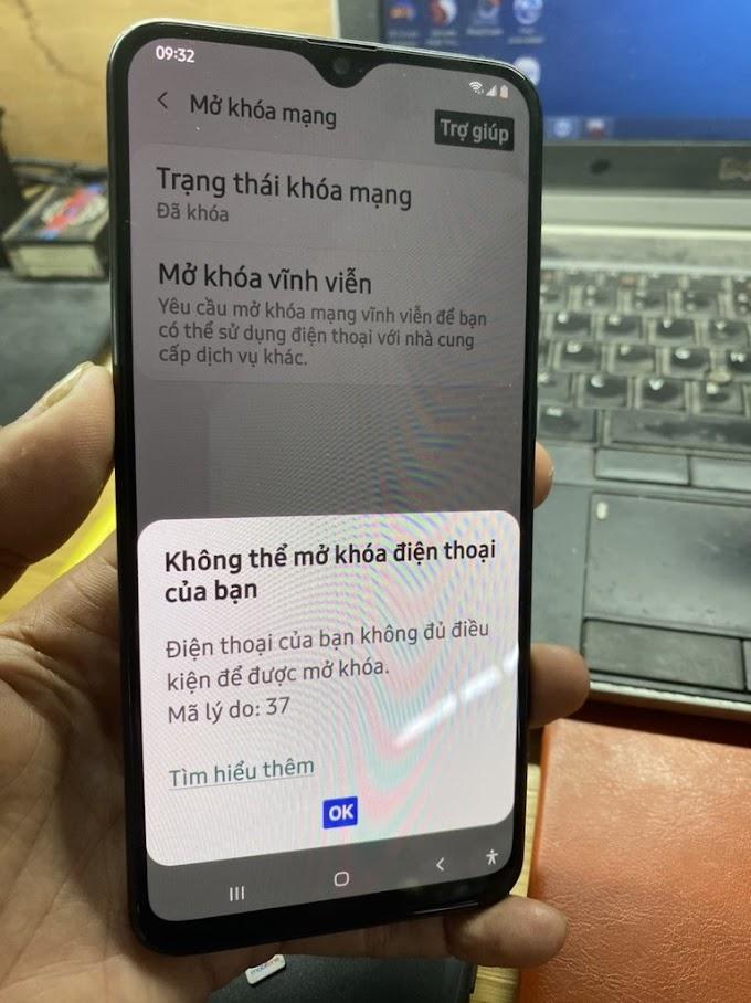 Samsung A20 | A205U mở mạng - unlock network thành công.