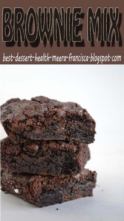 Use some everyday ingredients to make your own Homemade Brownie Mix using this delicious recipe!