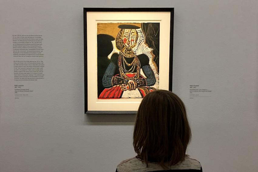 Pablo Picasso: Frauenbüste nach Lucas Cranach, 1958