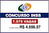 INSS pede abertura de concurso para 7.575 vagas para níveis Médio e Superior com salários de até R$ 8,3 mil