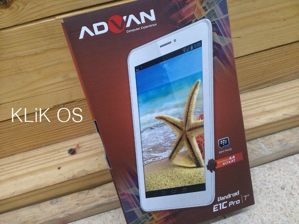 Cara Flash Advan E1C Pro 8GB P7025C