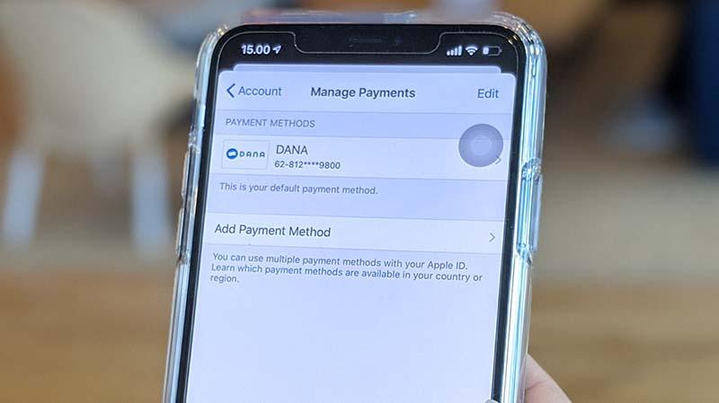 DANA Resmi Menjadi Metode Pembayaran di App Store