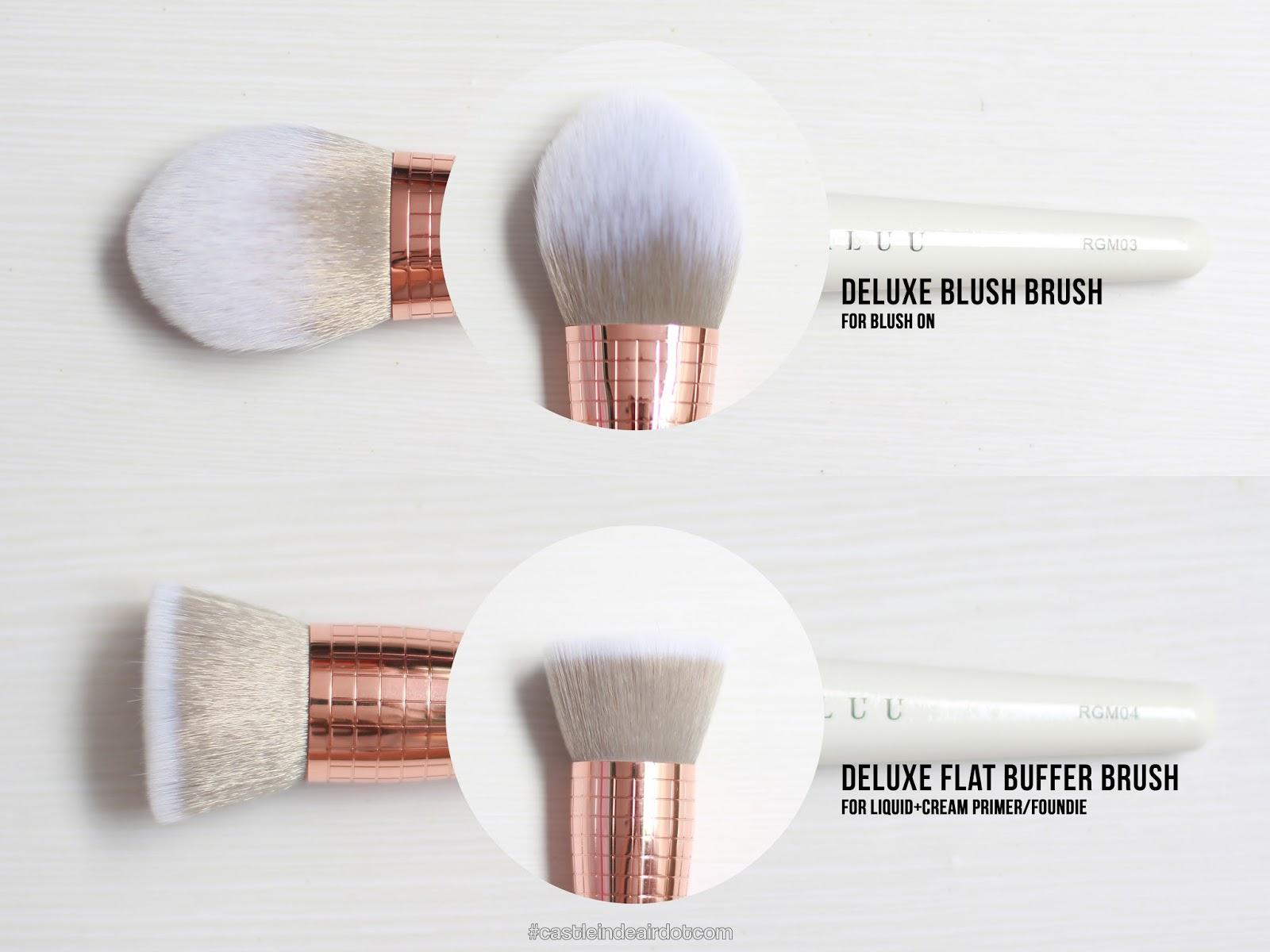 Haluu Essentials Color Swap Duo Daftar Harga Terkini Dan Terlengkap Lash Applicator Rose Gold Marble Brush Series