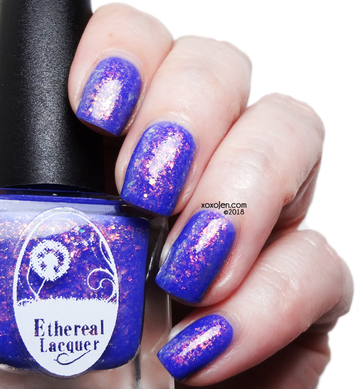 xoxoJen's swatch of Ethereal Lacquer for Polish Pick Up: Moonlit Machete
