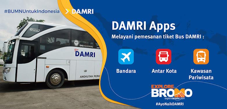 rute baru bus damri wisata bromo