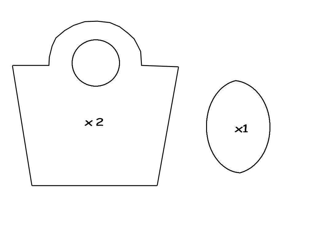 Famoso La vera moda a 360°: DIY: Cartamodelli di 2 semplici borse: (la  ZK49