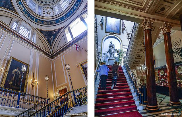 Interior do Town Hall (Prefeitura) de Liverpool